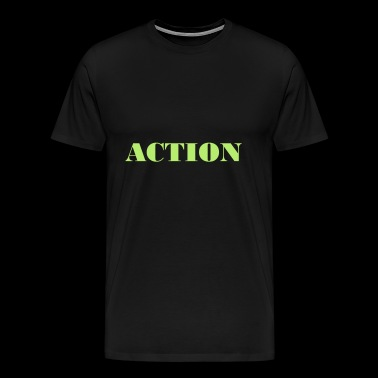 Action - Premium-T-shirt herr