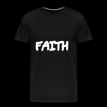 Faith - Faith - Men's Premium T-Shirt