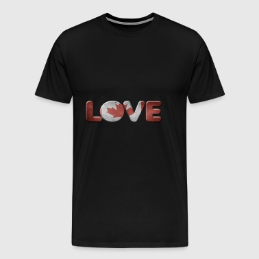I LOVE CANADA CANADA - Men's Premium T-Shirt