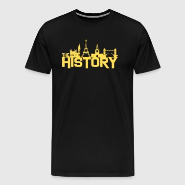 History Historical buildings - Men's Premium T-Shirt