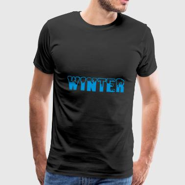 2541614 10900038 winter - Männer Premium T-Shirt