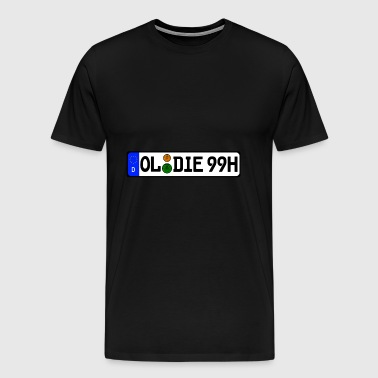 Oldies 99 historically - Men's Premium T-Shirt