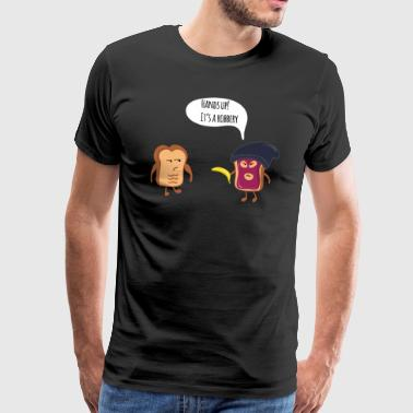 TOAST ROBBERY - Men's Premium T-Shirt