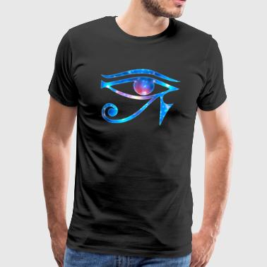 Eye of Horus Egypt magic symbol lucky charm - Men's Premium T-Shirt