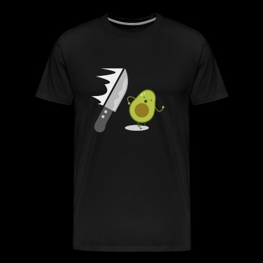 Avocado - Run for Life - Gift - Men's Premium T-Shirt