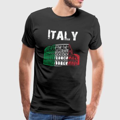 Nation-Design Italy 01 - Men's Premium T-Shirt