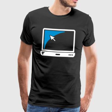 Notebook laptop gift - Men's Premium T-Shirt