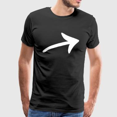 Arrow strong - Men's Premium T-Shirt