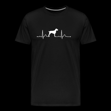 ENGLISH DRAHTHAAR - GERMAN WIREHAIRED POINTER - Men's Premium T-Shirt