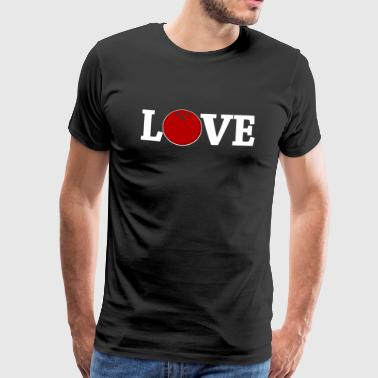 bowling love - Men's Premium T-Shirt