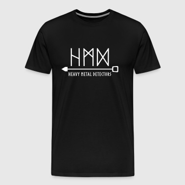 Heavy Metal Detectors - Men's Premium T-Shirt