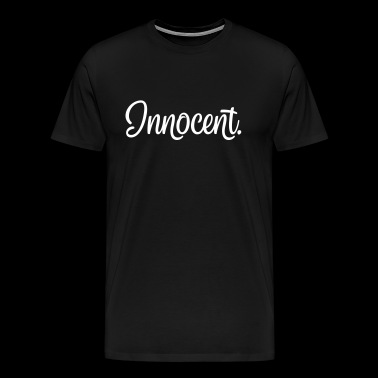 Innocent. verdict innocent - T-shirt Premium Homme