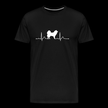 EURASIER heartbeat heartbeat - Men's Premium T-Shirt
