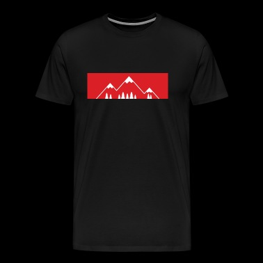 The mountain calls! - Mountains, mountains - Men's Premium T-Shirt