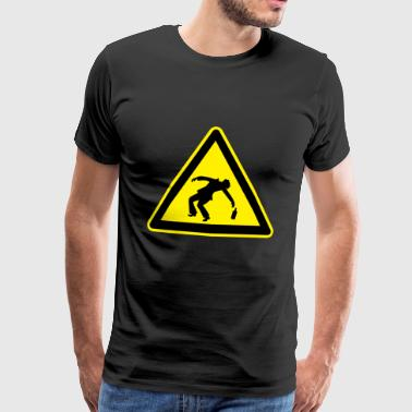Caution Drunk 2 - Men's Premium T-Shirt