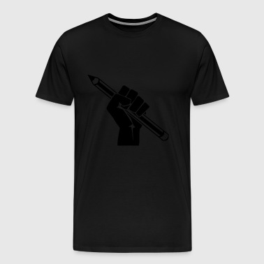 freedom of speech - Men's Premium T-Shirt