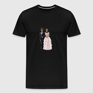 GHOST LOVE - Premium-T-shirt herr