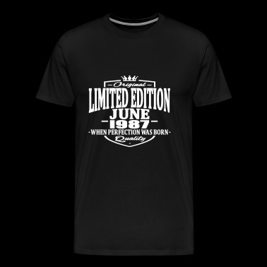 Limited edition june 1987 - Men's Premium T-Shirt