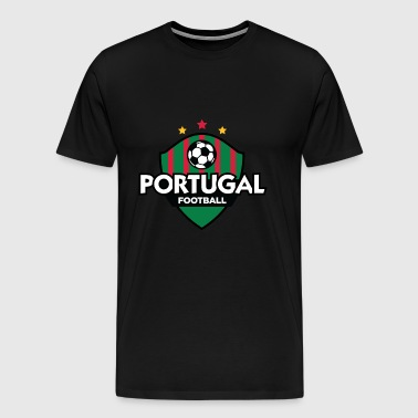 Portugal Football Emblem - Men's Premium T-Shirt