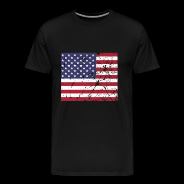 Independence Day 4th of July US Flag Patriots - Men's Premium T-Shirt
