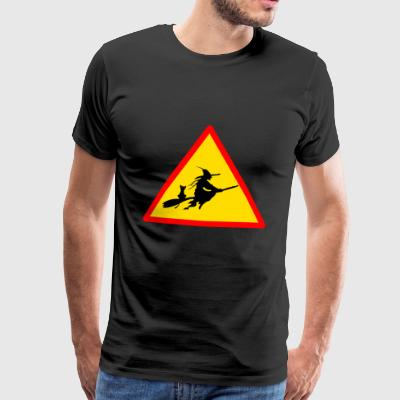 häxor witch häxor witch halloween - Premium-T-shirt herr