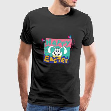 Easter Happy Easter Bunny - Männer Premium T-Shirt