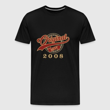 Original since 2008 - vintage gift birthday - Men's Premium T-Shirt