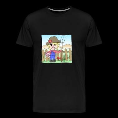 farmer's wife - Men's Premium T-Shirt