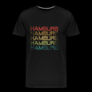 Hamburg - used look - Mannen Premium T-shirt