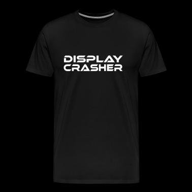 DISPLAY CRASHER Telefon destroyer - Herre premium T-shirt