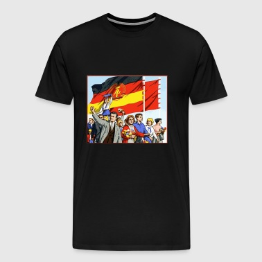 DDR parade - Men's Premium T-Shirt