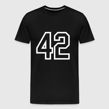 forty-two - Men's Premium T-Shirt
