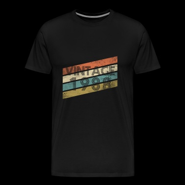 30th birthday t shirt vintage 1988 gift - Men's Premium T-Shirt
