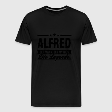 Man Myth Legend Alfred - Men's Premium T-Shirt