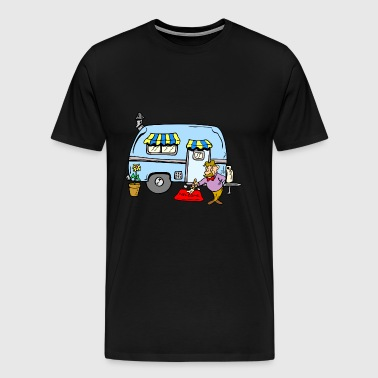 Camping Rving Welcome Home - Herre premium T-shirt