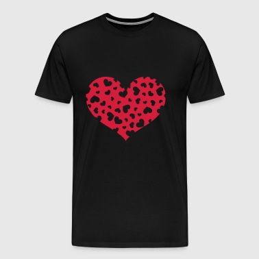 Hundreds Heart - Men's Premium T-Shirt