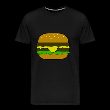 Hamburger / hamburger - T-shirt Premium Homme