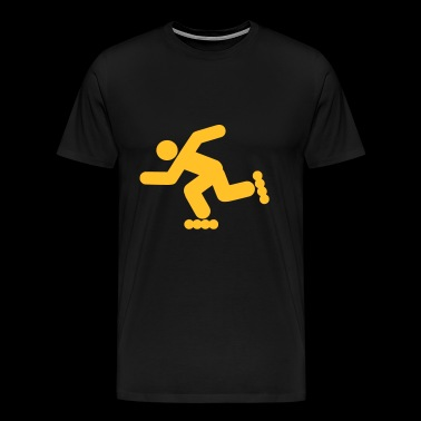 inline skating - Men's Premium T-Shirt