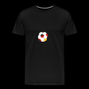 De bal is voor het Duitse nationale team! - Mannen Premium T-shirt