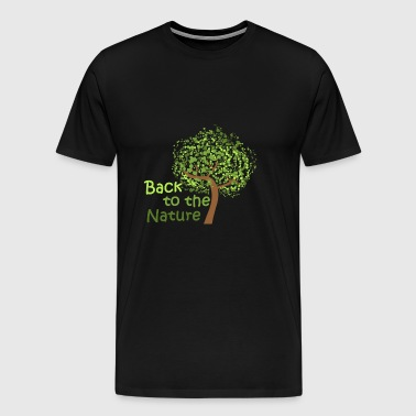 Back to the NATURE - Männer Premium T-Shirt