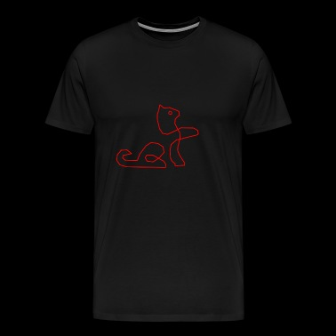 Red Cat - Men's Premium T-Shirt