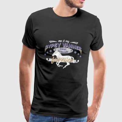 Gypsy Vanner PFerd Pony horse best friends - Men's Premium T-Shirt