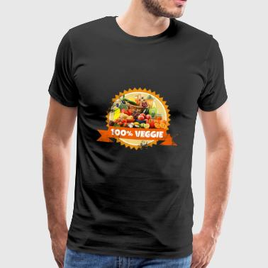 Veggie vegetables fruits fruits vegans - Men's Premium T-Shirt
