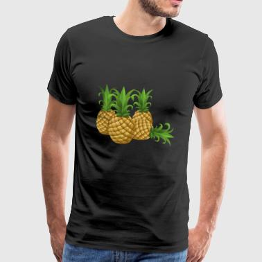 Pineapples - pineapple - Men's Premium T-Shirt