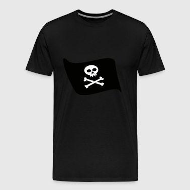 PIRATEN-FLAGGE - Männer Premium T-Shirt