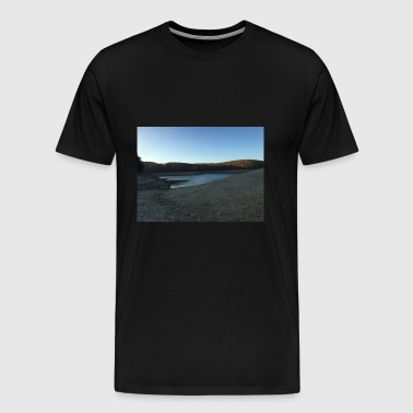 LAKE - Mannen Premium T-shirt