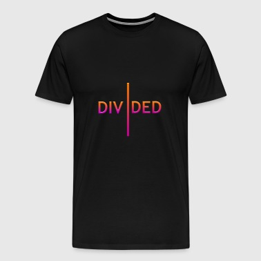 Divided color - Camiseta premium hombre
