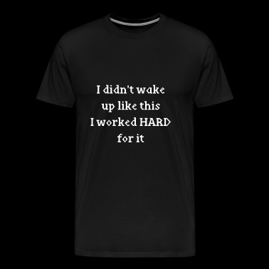 wake up - Men's Premium T-Shirt