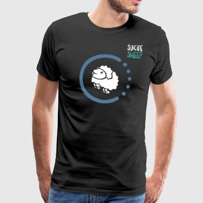 Mr Suicide Sheep - Premium-T-shirt herr