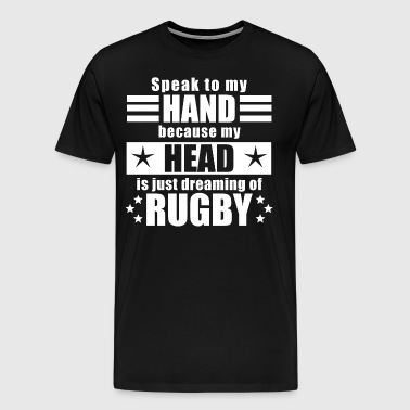 Funny funny saying rugby gift - Men's Premium T-Shirt